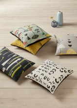 John Lewis launches exclusive collection of Lucienne Day cushions and fabrics made using re-issued archive textile designs