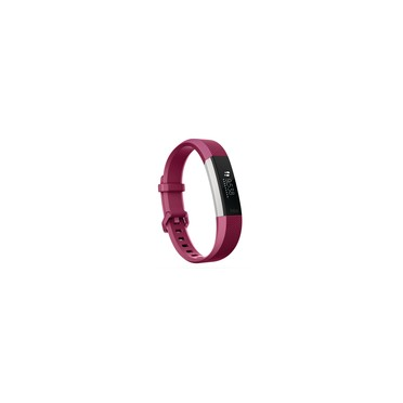 Fitbit Alta HR Heart Rate and Fitness Tracker, Large, Fuchsia