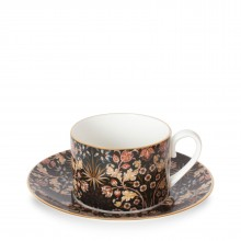 House of Hackney Hyacinth teacup and saucer William Morris collection