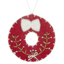 Folklore Felt Wreath, £4