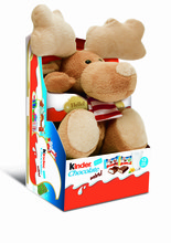 Kinder fluffy reindeer
