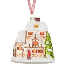 Folklore Woodland house shaped bauble £8