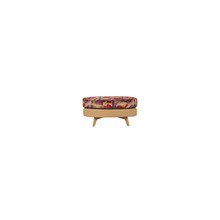John Lewis Barbican Leather Stool with Light Legs, Prescott Buckskin Hide