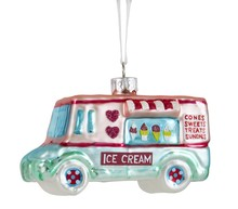Ice-cream van bauble