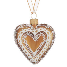 Folklore Gingerbread heart hanger £4