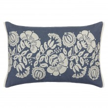 John Lewis - Genevieve Bennett Persian Thistle cushion in slate