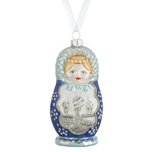Winter Palace Babushka Bauble