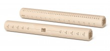 John Lewis Paul Hollywood Rolling pin with measurements £9.99