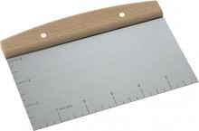 John Lewis Paul Hollywood Dough cutter with measurements £6.99