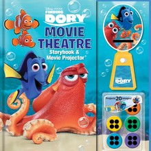Finding Dory Movie Theatre Story Book & Theatre Projector