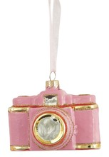 Pink camera bauble