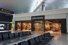 John Lewis Heathrow Takes Off