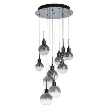 John Lewis Dano LED Smoke 10 light pendant £260