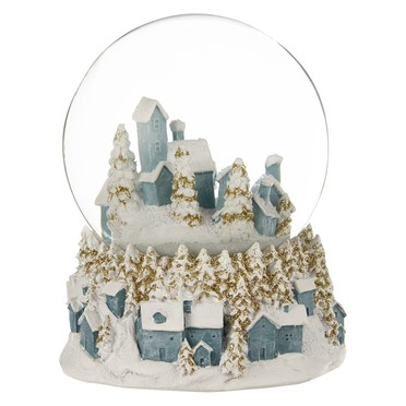 Winter Palace Magical Village Snowglobe