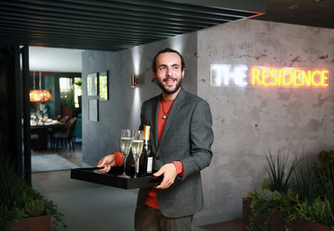 Vincenzo Maxia, the Concierge at The Residence, John Lewis Oxford Street