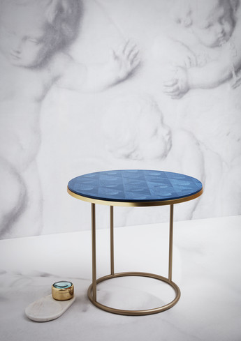 V&A Inspired John Lewis designed Jack Marquetry Side Table £599 & Vict Mag Jewl dish £50