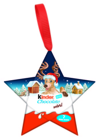 Kinder hanging star