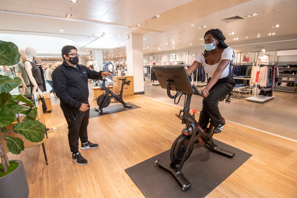 Peloton Launches Nationwide Retail Concept At John Lewis